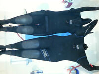 His & Hers Dry Suits