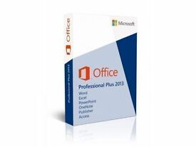 MICROSOFT OFFICE 2013 PROFESSIONAL - WORD, POWERPOINT, EXCEL, OUTLOOK, ACCESS, PUBLISHER, 365