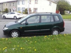 2003 Mazda Permacy Petrol Manual 5 Speed 5 Door M.P.V. With 12 Month MOT PX W...