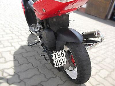 Kennzeichenhalter seitlich Peugeot Speedfight 2 / 3 II LC AC Tuning Halter Seite