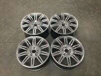 19 Inch Staggered 535 Spyder Style alloy Wheels – Hyper Silver – 5 6 7 Series E9x M3 models 5x120