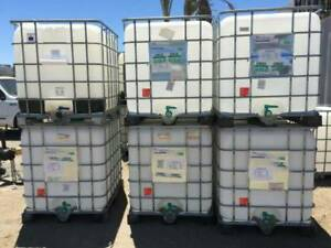 (40) 1000L food grade water totes.Abbotsford. Delivery available