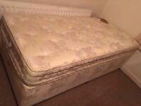 Harrison single divan bed with mattress/ Free delivery