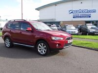 MITSUBISHI OUTLANDER 2.2 DI-D GX AUTOMATIC, FULL SERVICE HISTORY, ONE OWNER