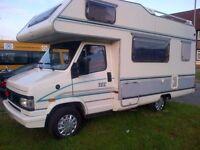 FIAT DUCATO TEC 2.5 D {L-H-DRIVE} 5 BERTH £5500