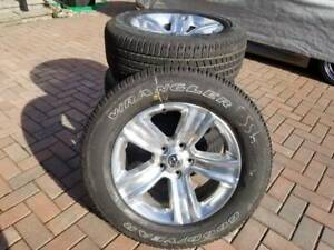 "HEMI RAM 1500  20"" ALLOY WHEELS & TIRES.  NEW TAKE OFFS. CHEAP"