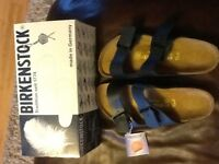 Woman's brand new Birkenstock sandals