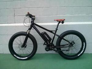 eRanger Electric MID DRIVE Fat Bike 48v 1000w & 750w