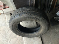1 PNEU / 1 ALL SEASON TIRE 215/70/15 ELDORADO
