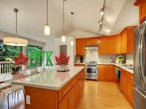 Kitchen Cabinets on sales - Shaker Honey Parawood