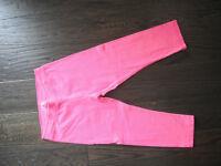Girls Pink Justice Capri Leggings Size 12