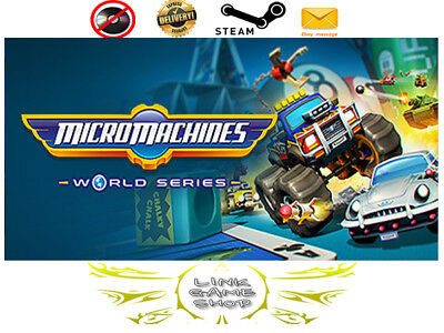 Micro Machines World Series PC & Mac Digital STEAM KEY - Region Free