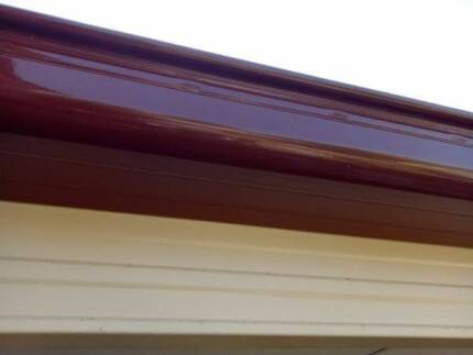 Fascia and high front quad gutter(slotted) combo.