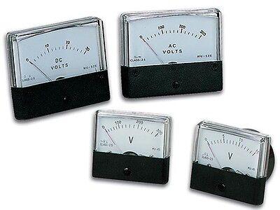 Velleman Avm7030 Analog Voltage Panel Meter 0 - 30v Dc 2.8 X 2.4