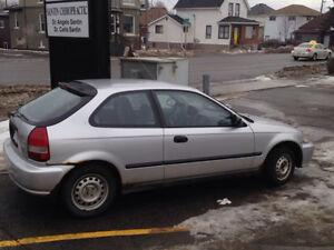 2000 Honda Civic 400$ obo