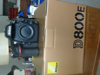 """New Nikon D800E Camera! Only 200 Shots used on this Camera!"