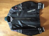 Triumph Motorcycle Leather Jacket Lucky9 size 46/56uk