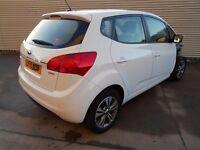 2015 Kia Venga 2 1.4 Crdi 90 BHP - DAMAGED REPAIRABLE SALVAGE