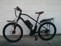 eRanger Electric MID DRIVE Bike 48v 750w free racks this month