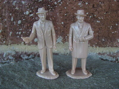 Marx Gangsters Al Capone Elliott Ness 1/32 54MM Untouchables Toy Playset