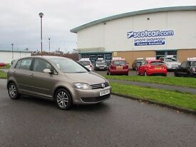2009 09 VOLKSWAGEN GOLF PLUS 1.4 SE TSI 5D 121 BHP