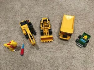 CAT construction vehicles Lego Duplo John Deere