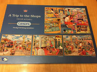"""Jigsaw puzzles """"a trip to the shops"""""""