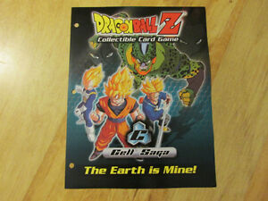 DRAGONBALL Z DBZ TCG CCG Card Game Cell Saga Sell Sheet