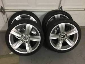 "set of genuine BMW 18"" Pirelli Sottozero run flat winter package"