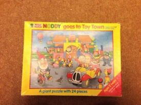 Noddy goes to toy town puzzle