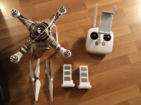Phantom 3 Professional Drone with lots of extras