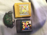 4 Gameboy games and wireless adapter