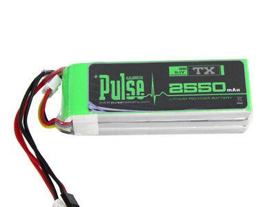 PULSE 2550mAh 3S 11.1V - Transmitter Battery - LiPo Battery