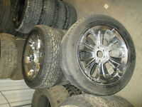 "GMC/Sierra 6 Bolt 1500  Chrome 22"" Wheels Tires"