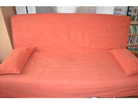 IKEA BEDDINGE DOUBLE SOFA BED WITH MATTRESS