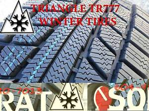 WINTER - TIRES 195/65/15 TRIAGLE TR777 SNOW LION FREE INSTAL