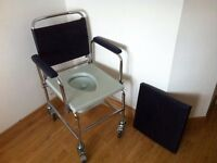 wheelchair commode unused