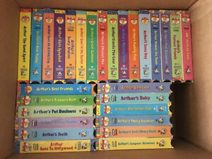 """Video Collection  VHS -Marc Brown's  """"Arthur"""""""