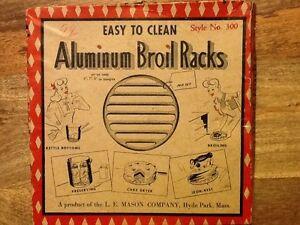 Vintage Broil Racks