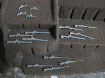 Tssd Alamo Civil War Weapons Guns Pistols 1 32 54Mm Toy Soldiers