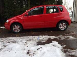 LOW KMS! 2006 Chevrolet Aveo Hatchback