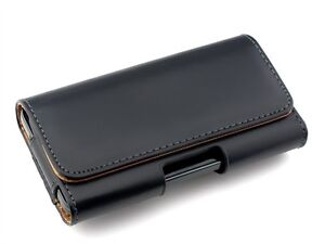 iPhone-4-5-HTC-One-X-Samsung-S2-S3-S4-LG-Sony-Leather-Belt-Clip-Pouch-Case-Cover