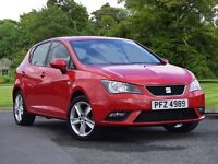 SEAT IBIZA 1.4 Toca 5dr (red) 2013