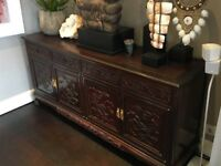 Beautiful Chinese Rosewood Sideboard