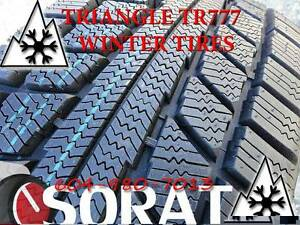 WINTER - TIRES 205/60/15 TRIAGLE TR777 SNOW LION FREE INSTAL