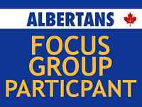 Immediate Need: Market Research + Focus Group Participants