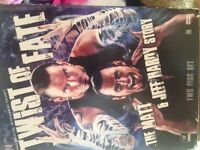 WWE Twist of fate the Matt and Jeff hardy story two disk set
