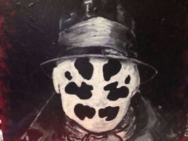 Rorschach from The Watchmen, Original Painting