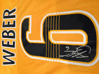Shea Weber Signed Jersey
