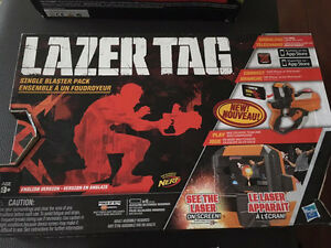 Brand New Lazer tag single blaster pack
